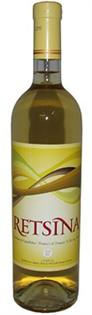 Loukatos Retsina 750ml - Case of 12